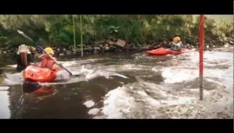 Wildwater varen in Nijmegen!